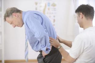 back pain middle